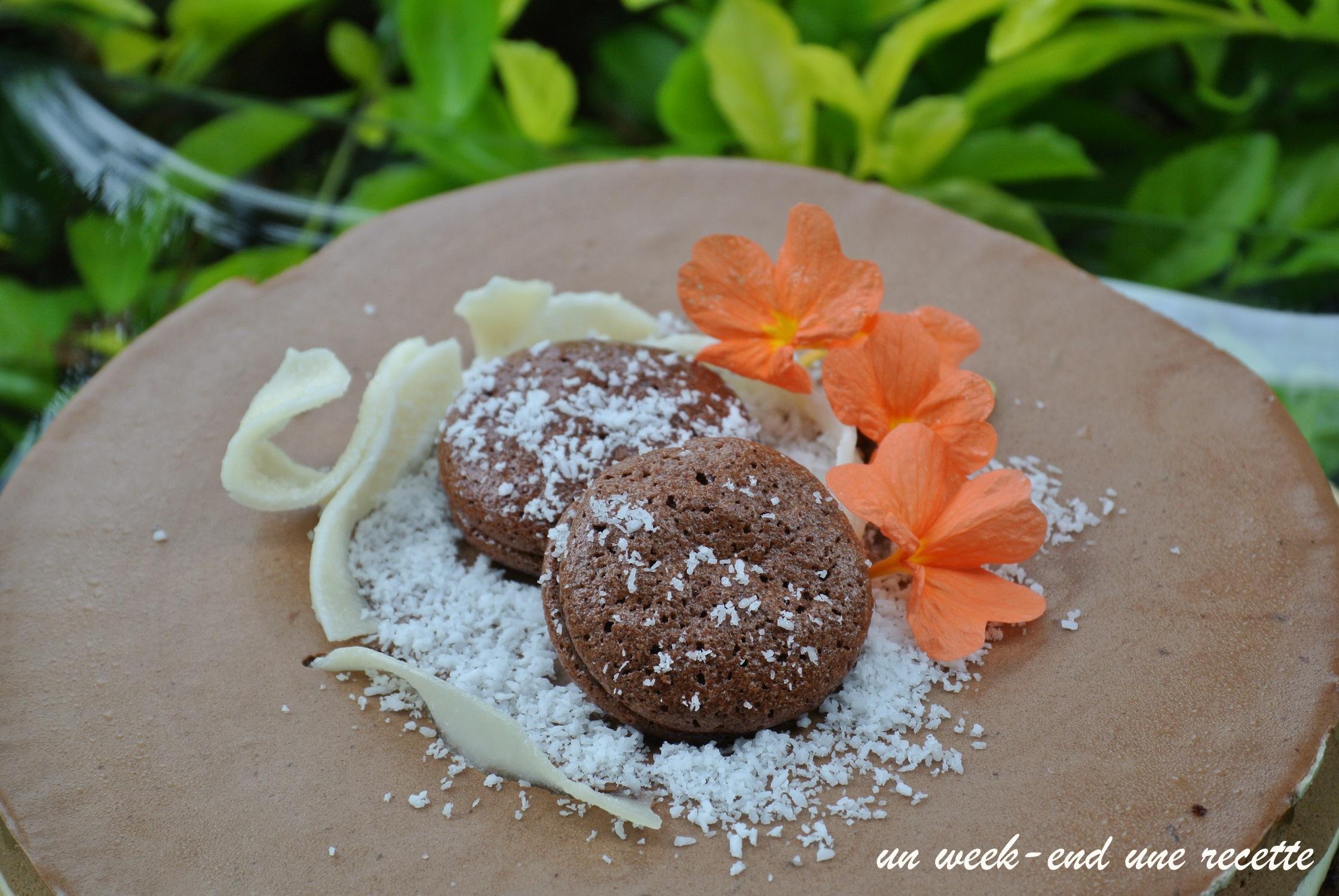 Entremet coco chocolat