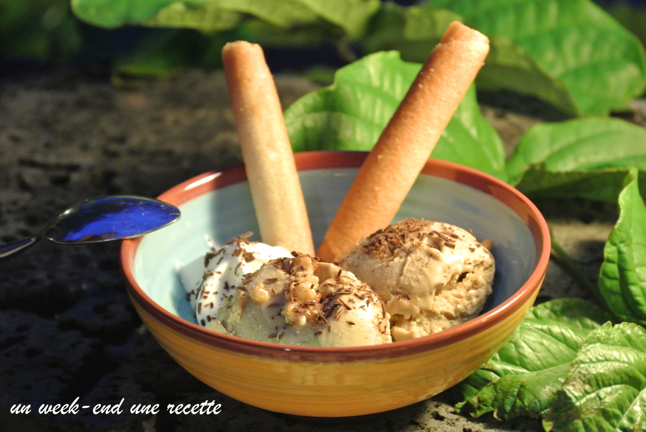 Crème glacée banane beurre de cacahuète