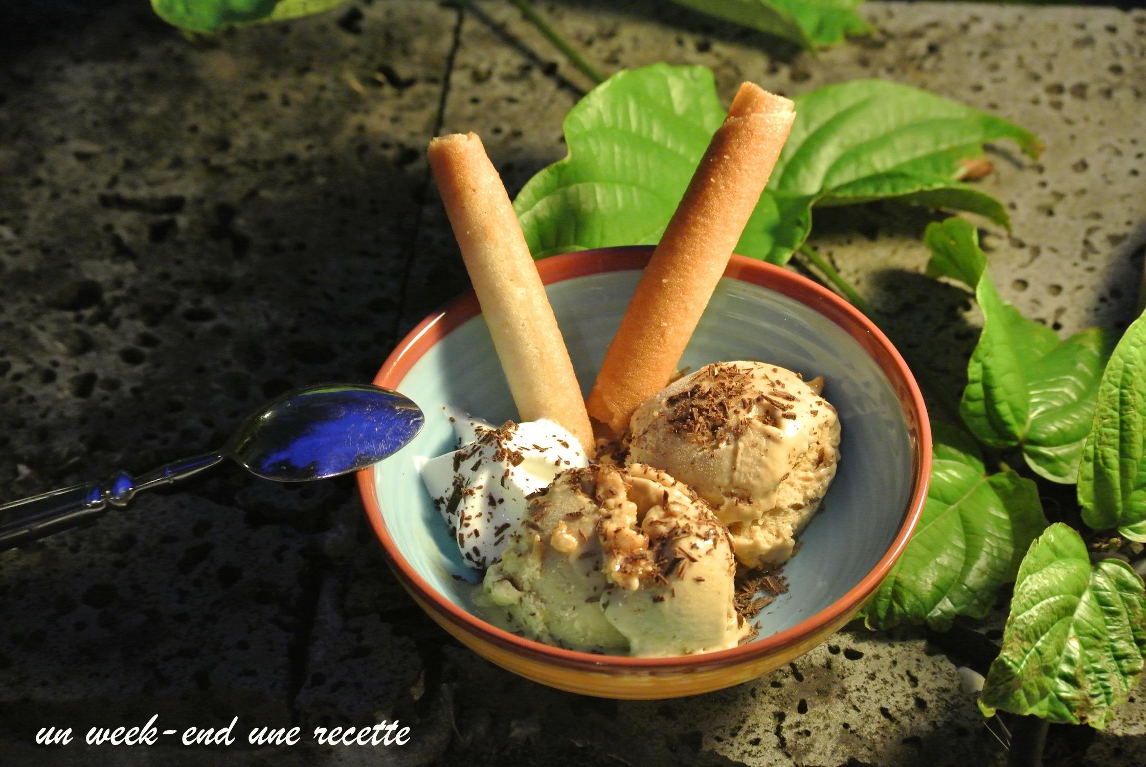 creme glacée banane et beurre de cacahuète