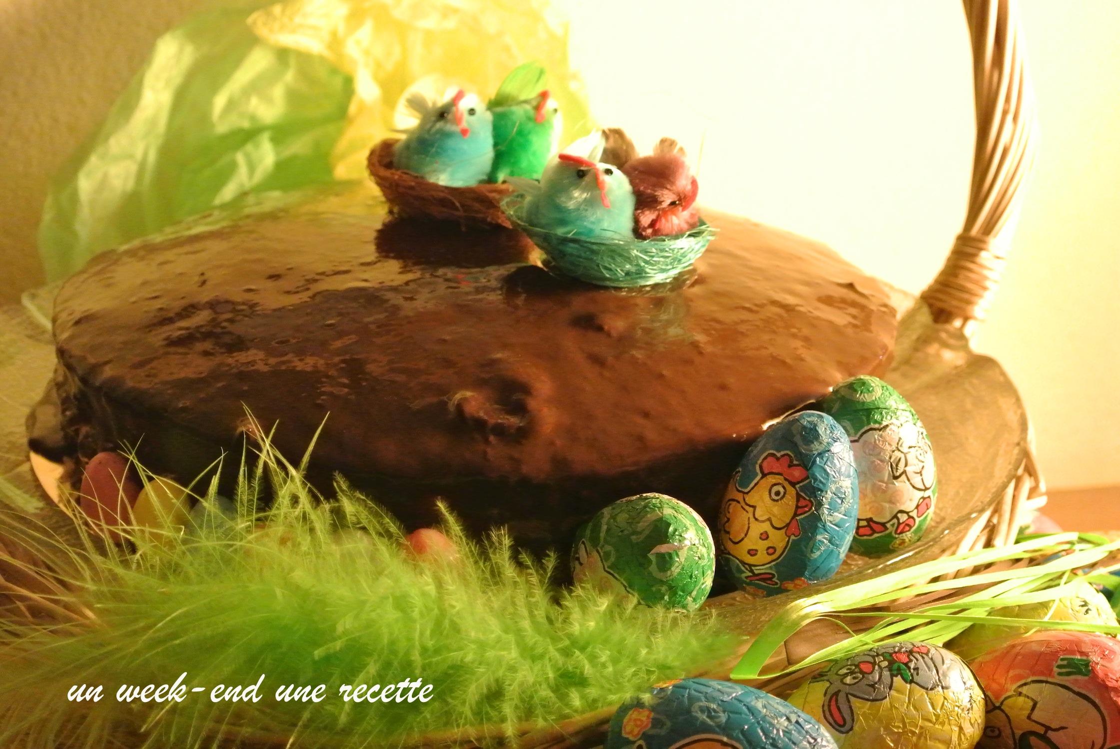 Gâteau de Pâques à la bière dodo et fleur d'oranger