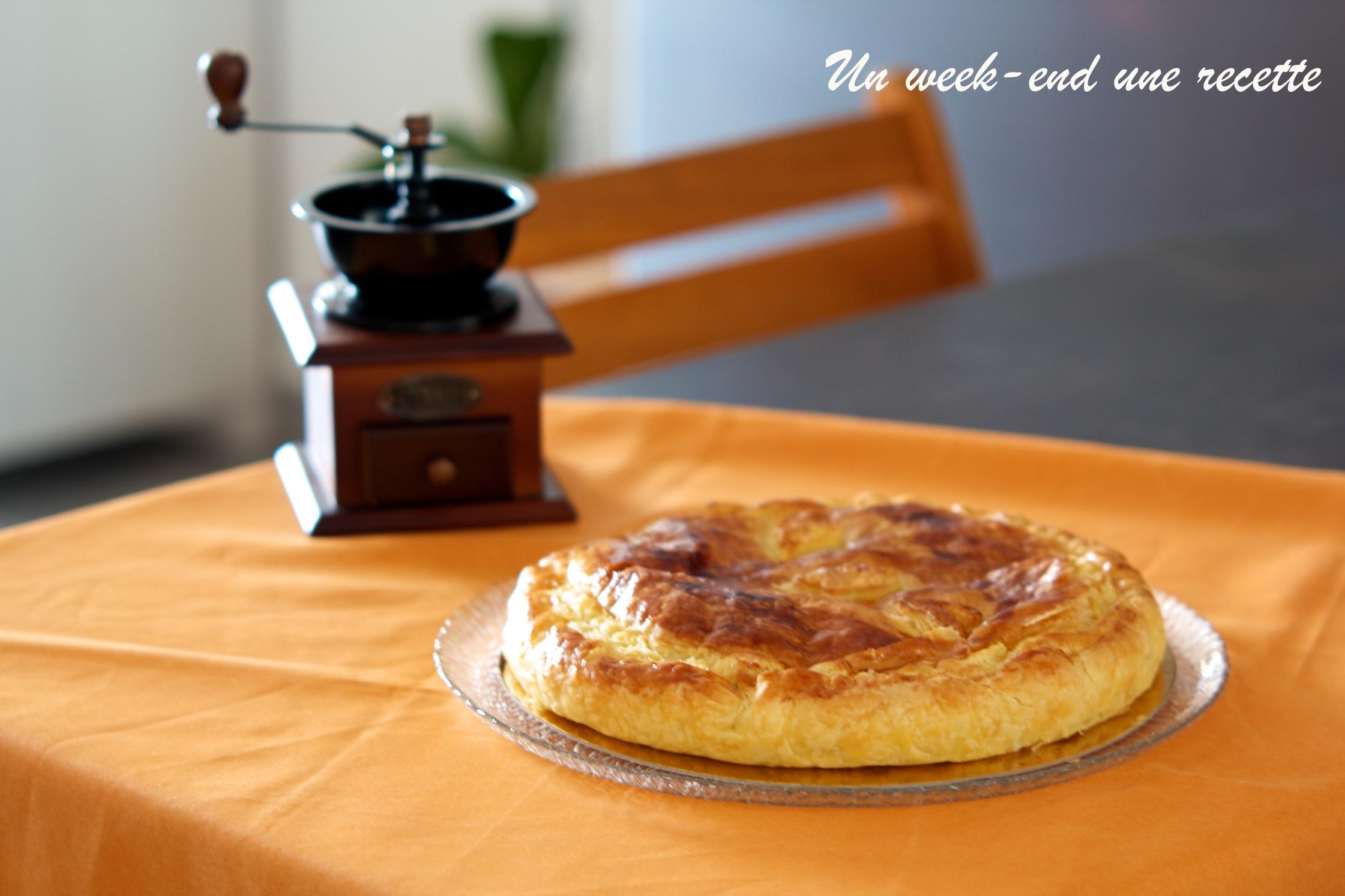 Frangipane oignons confit zeste d'orange
