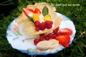 tartelette fruits