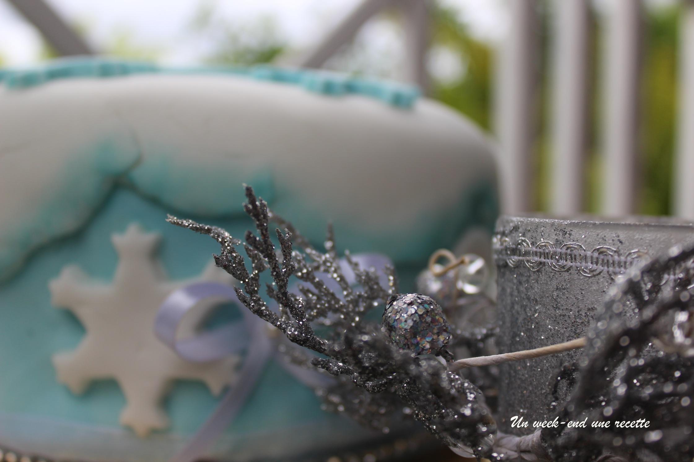 Moelleux à la noix de coco Reine des neiges