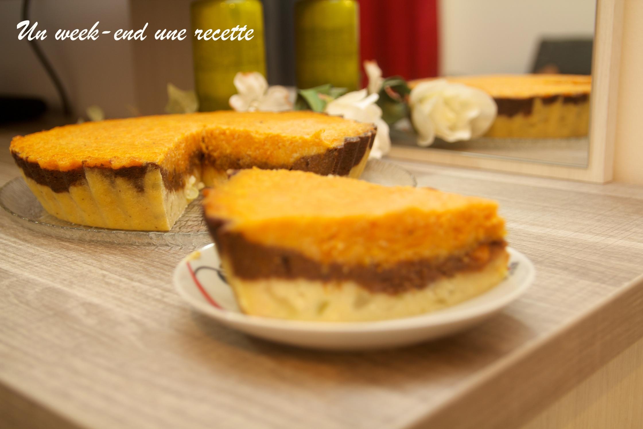 Gâteau chouchou, citrouille chocolat , citrouille