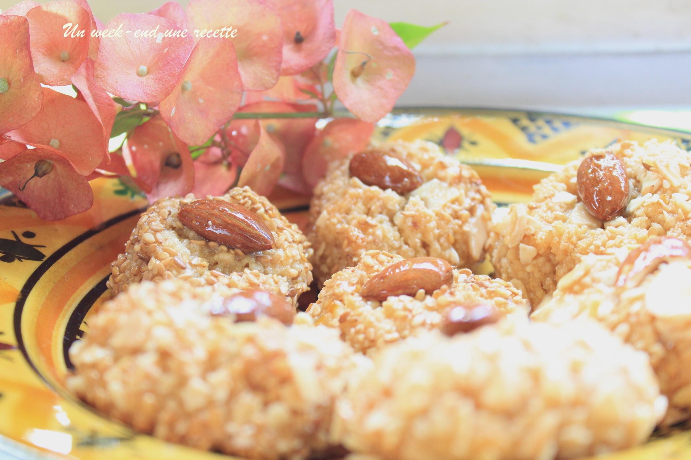 Gâteau miel cacahuètes