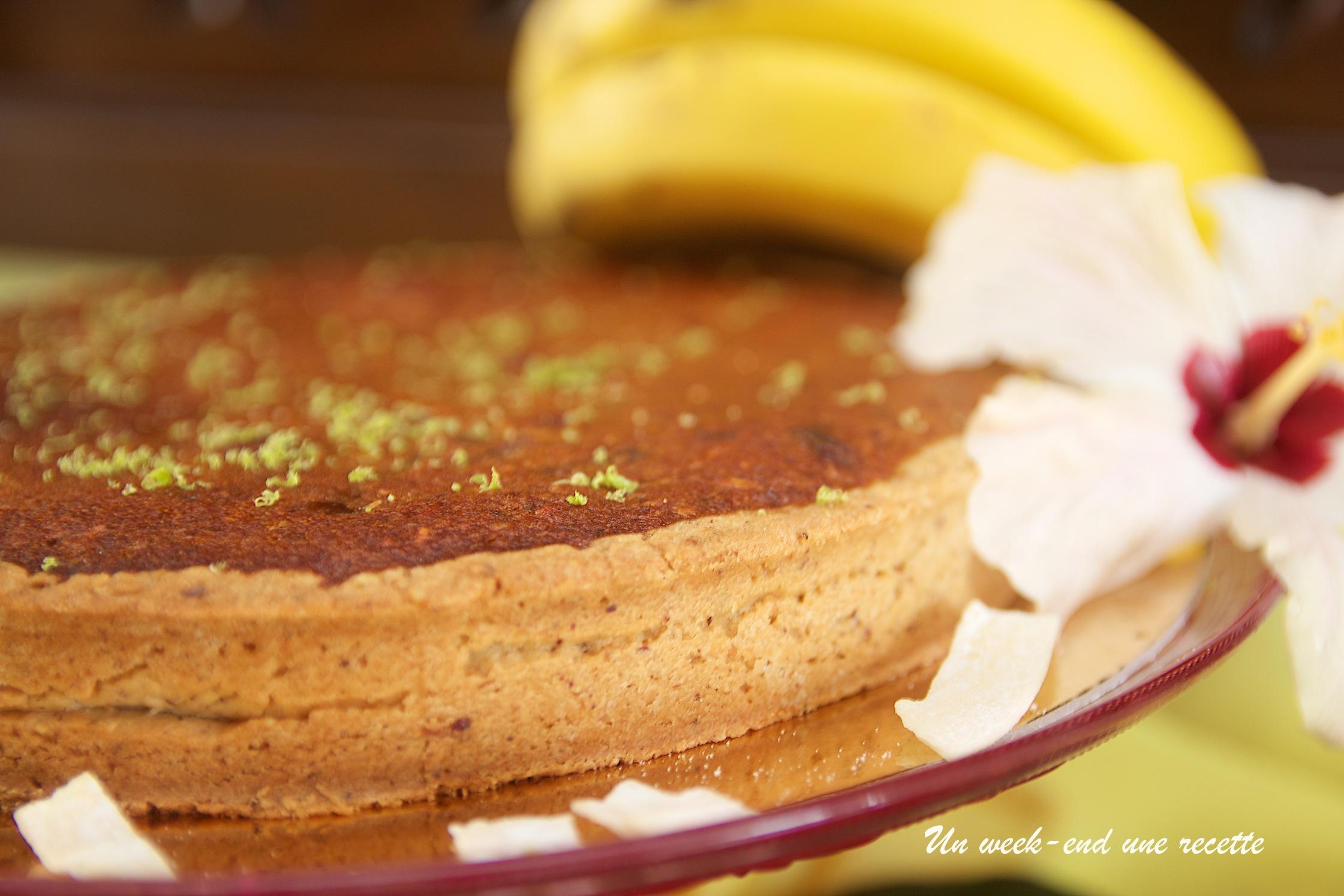 tarte amadine à la banane