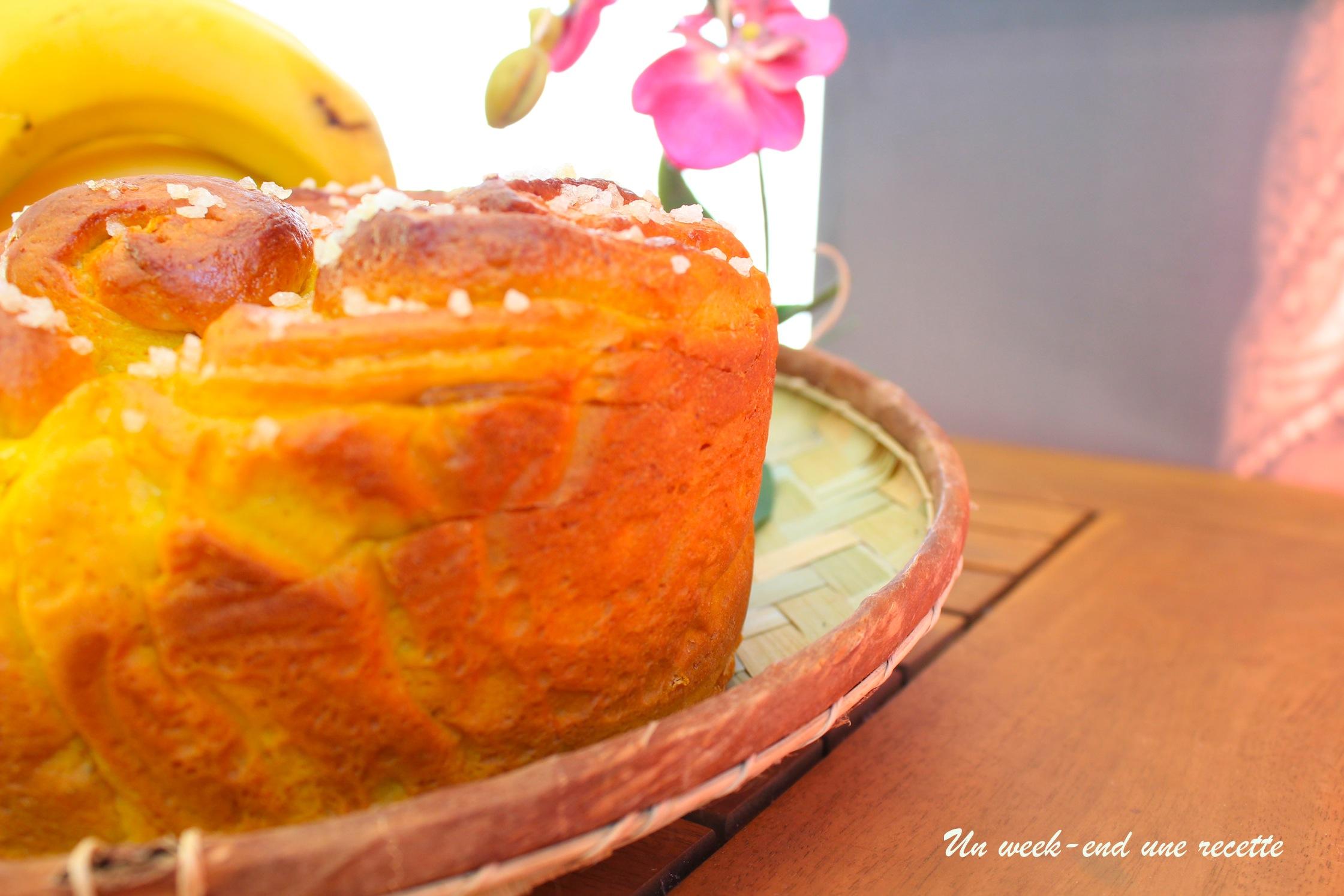 Brioche confiture de citron