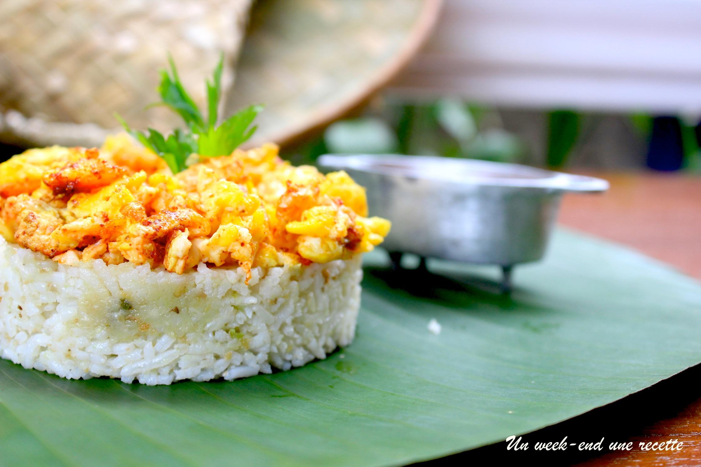 riz chauffé