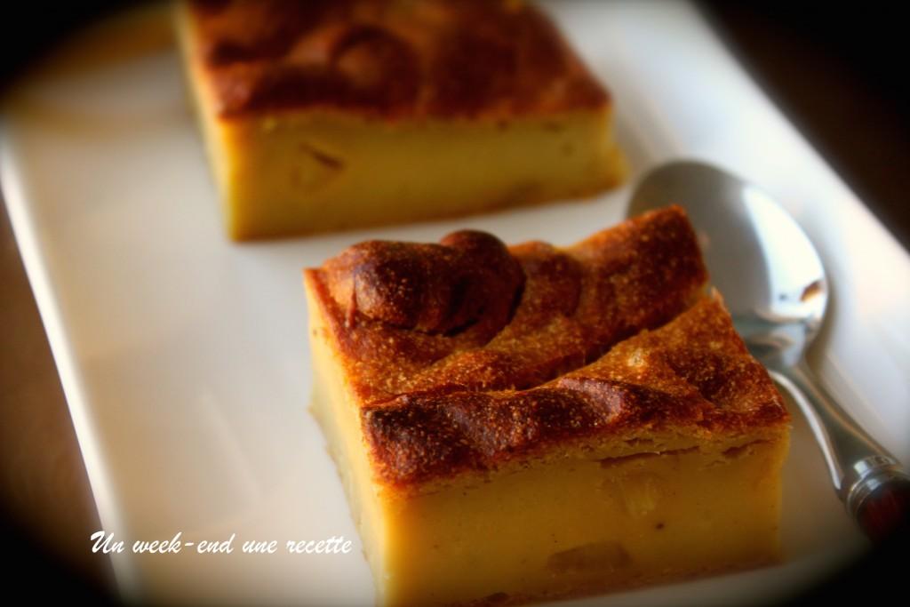 Gâteau de fruit à pain au gingembre confit