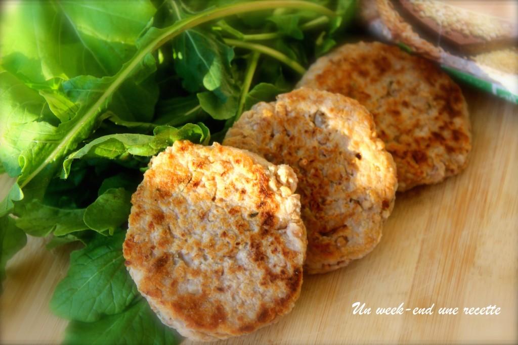 Galettes de kasha au fromage et aux épices