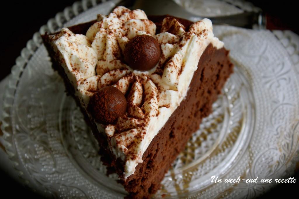 Fondant chocolat aux haricots rouge