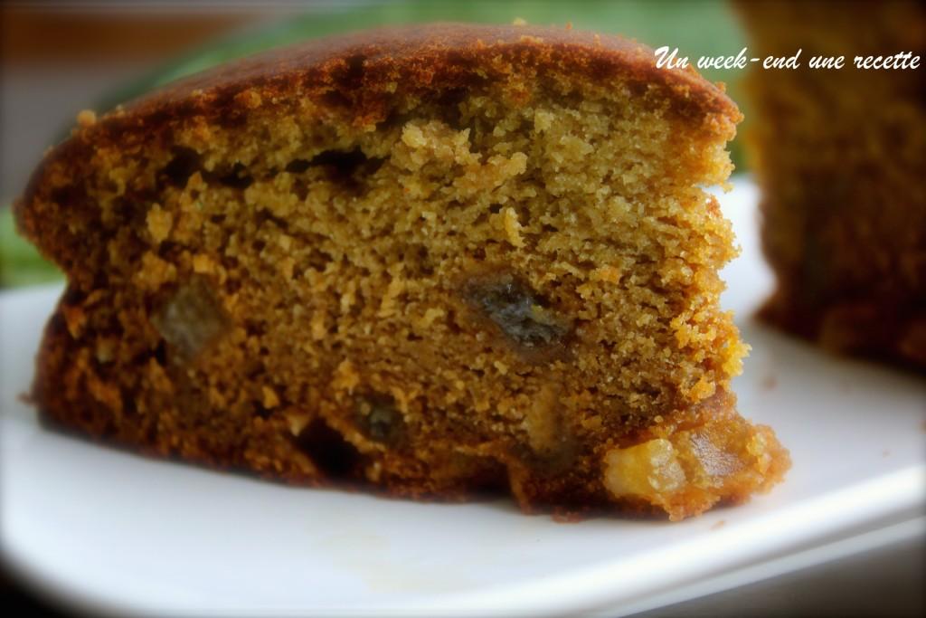 Gâteau de courgette