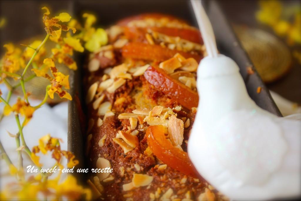 Moelleux aux amandes à l'orange