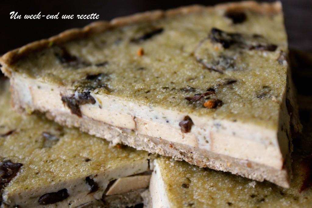 Tarte champignon