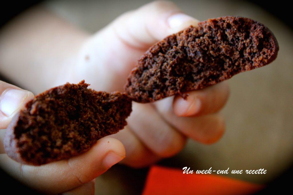 Biscuits chocolat paléo