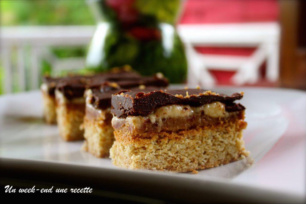 Cookies bar beurre de cacahuète